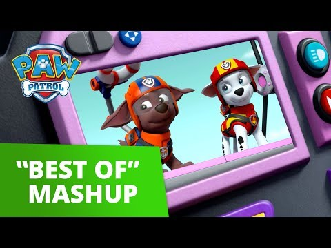 PAW Patrol Best of Mashup 4 | Pup Tales, Toy Episodes, and More! | PAW Patrol Official & Friends