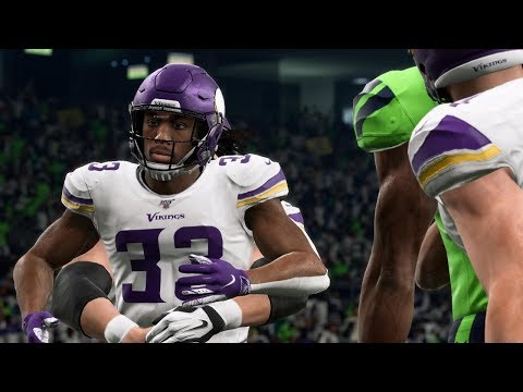 NFL Monday 12/2 Minnesota Vikings vs Seattle Seahawks Full Game | NFL Week 13 (Madden)