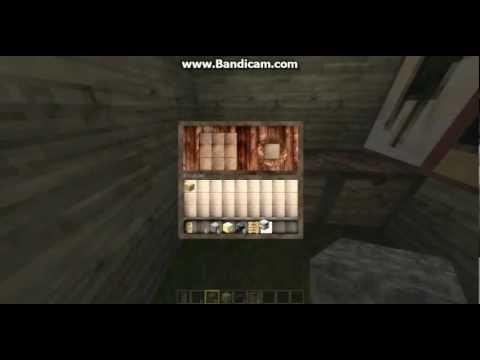 Minecraft Kapı,Merdiven,Fırın ve Cam Yapımı