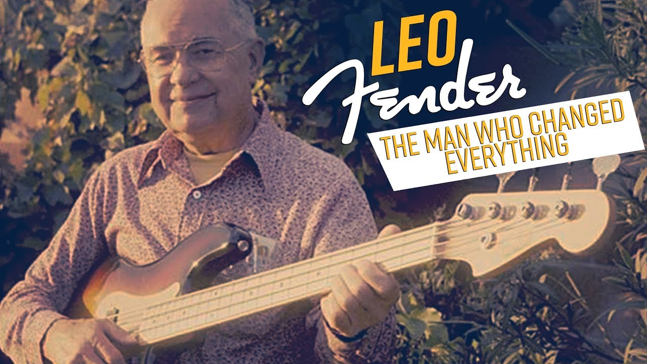 The true genius behind the modern electric bass – Leo Fender