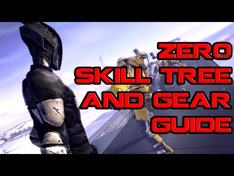Borderlands Zer0 Skill Tree And Gear Guide