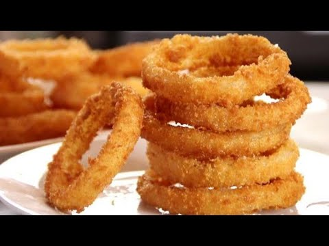 Homemade Onion Rings - Super Crispy Easy And Delicious