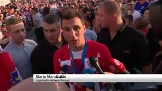 SBTV - DNEVNIK -NEZABORAVAN DOČEK ZA MARIJA MANDŽUKIĆA! - 18.07.2018.
