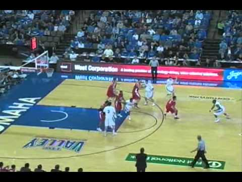02 01 2012 - Highlights of the Creighton Bluejays vs Illinois State Redbirds from February 1, 2012.