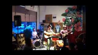 """""""Anywhere With You"""" (Jake Owen Cover) by The Brady Smith Band performed at Coastal Coffee Roasters of Summerville, SC."""