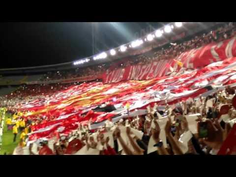 independiente Santa fe copa sudamericana 2015 - La Guardia Albi Roja Sur - Independiente Santa Fe