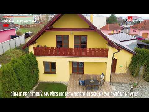 Video Prodej, domy/rodinný, 183.5 m2, U vodojemu 950, 69142 Valtice, Břeclav [ID 31164]