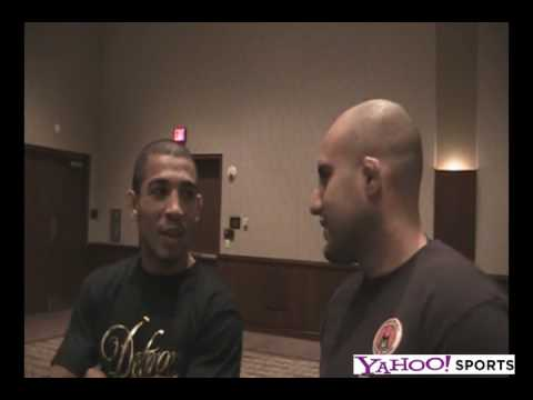 Jose Aldo talks How He Got his Scar on his Face
