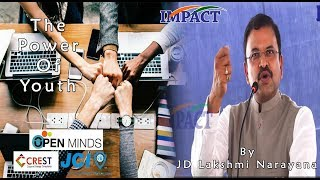Video Power of Youth by JD Laxminarayana at Open Minds 2018 MP3, 3GP, MP4, WEBM, AVI, FLV Desember 2018
