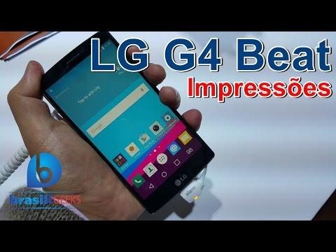 LG G4 Beat - Impressões