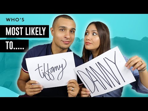Who's Most Likely to: Husband and Wife Tag