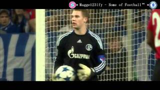 Manuel Neuer gegen Manchester United (2011)