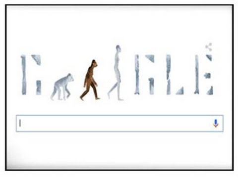 Google Doodle 2015 | Discovery of Oldest Hominid Lucy