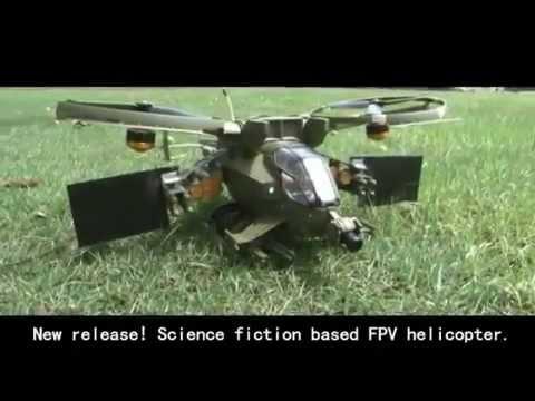 RC Helikopter   Çift Brushless   Karizmatik   FPV Model