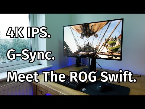 Asus ROG Swift PG27AQ 4K Monitor Review
