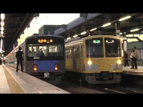 Seibu Ikebukuro Line 2010.01.02 (видео)