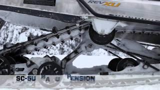 8. 2012 Ski-Doo Skandic, Tundra Snowmobiles