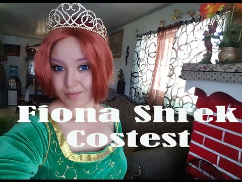 COSTEST FIONA SHREK (makeup, costume, etc.)