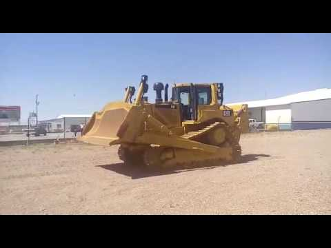 CATERPILLAR TRATORES DE ESTEIRAS D 8 T equipment video dcZZBetyJ1o