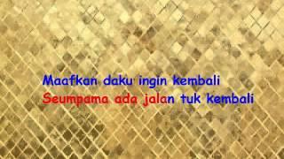 Karaoke Melly Goeslaw feat Ari Lasso - Jika (Tanpa Vokal)