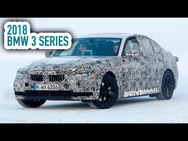 New BMW 3 Series G20 (2018) spy video - Playing in the snow!