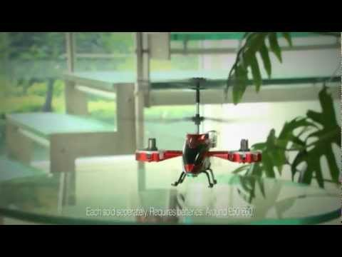 Force Flyer Motion Controlled Raptor Helicopter