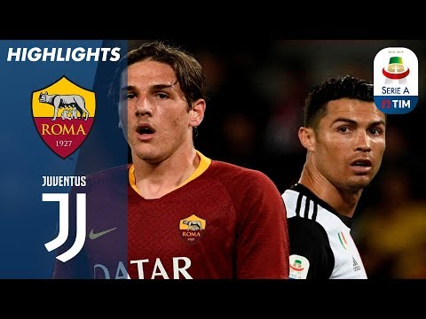 Roma 2-0 Juventus | Roma Break Through Defending Champion Juve's Resistance | Serie A