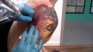 "Tattoo Time-lapse Ep. 13 ""Thai Design"" Pt. 2"