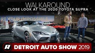 Walkaround: 2020 Toyota Supra close look | Detroit 2019 by Roadshow