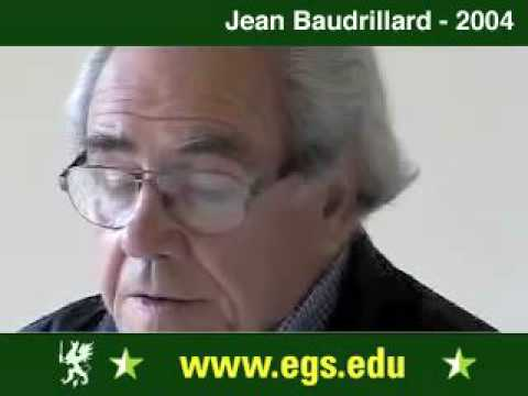 Jean Baudrillard. Seduction, Sex and Pornography. 2004 2/15