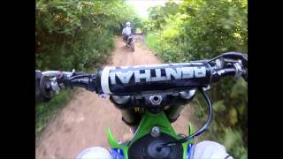 6. Kx250 & rm85L(Part2) Trail riding and FAIL!! GoPro