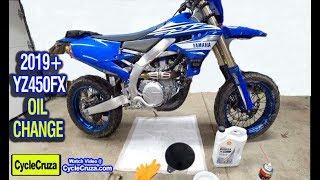 10. Oil Change: Yamaha YZ450FX YZ450F WR450F (2018 - Current)