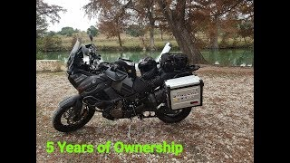 4. Yamaha Super Tenere ES - 5 Years of Ownership (Review)
