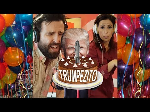 RFM faz paródia sobre o aniversário de Trump
