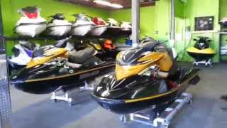 8. Pair of 2006 sea doo RXP 215 hp jetskis w/trailer www.Miamijetskishop.com