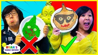 Pancake Art Challenge Mystery Wheel & Learn How To Make DIY Avengers, Incredibles 2, The Grinch Art