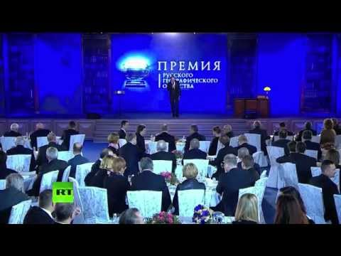 """группа """"Акапелла Экспресс"""" - на мероприятии В. Путина"""