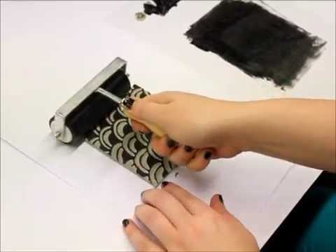Linoprinting Tutorial with Emer - Vibes and Scribes