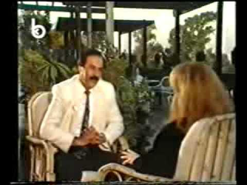 لقاء مع فيروز في القاهره عام 1989
