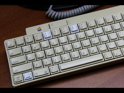 Apple IIgs keyboard review  (SMK 2nd generation tactile)