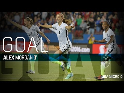The fastest goal in U.S. soccer history. 0:12s
