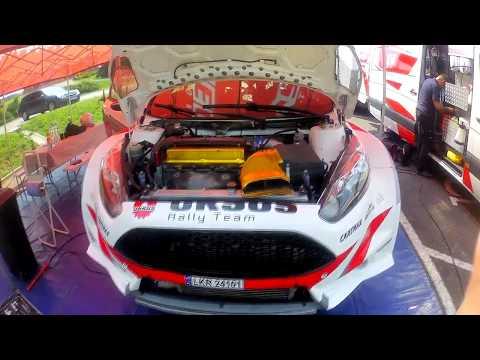 Testy przed rajdem Rzeszowskim załogi Ursus rally team
