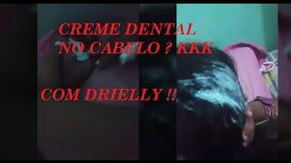 CREME DENTAL NO CABELO ??? KKKK