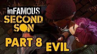 inFamous: Second Son Evil Walkthrough Part 8 - The Hook-Up - Evil&Expert Playthrough