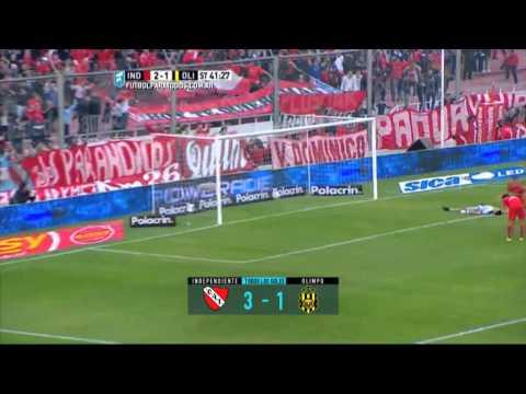 Todos los goles. Fecha 16. Primera División 2015