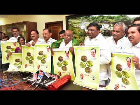 , Minister Jogu Ramanna launched website & Calendar