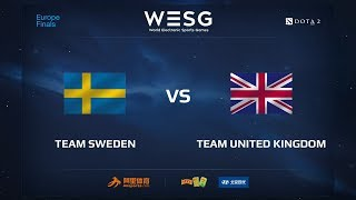 Team Sweden vs Team UK, WESG 2017 Dota 2 European Qualifier Finals