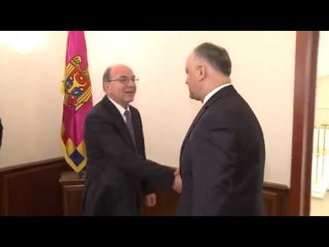 Igor Dodon a avut o întrevedere cu ambasadorul rus