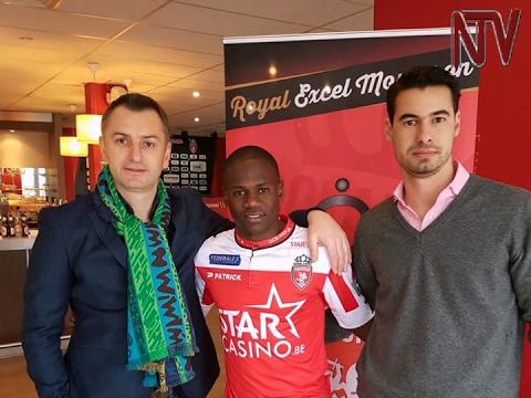 Farouk Miya loaned by Standard Liege to Royal Excel Mouscron (видео)