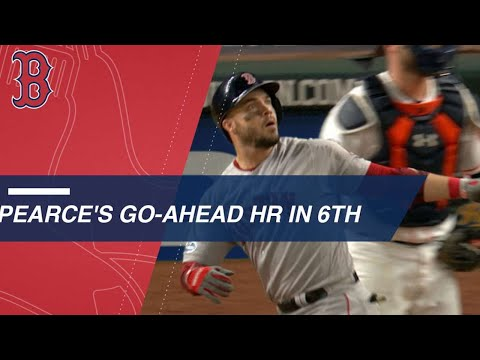 Video: Pearce crushes a long go-ahead homer in the 6th